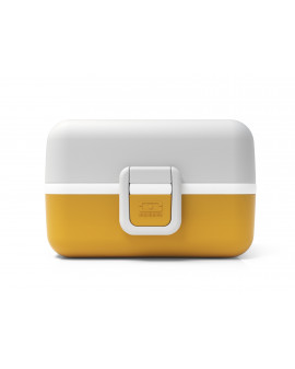 Bento enfants jaune moutarde