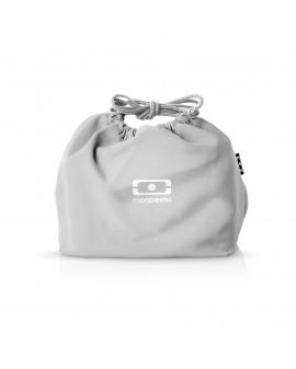 sac bento gris coton