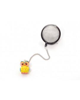 Boule à thé hibou