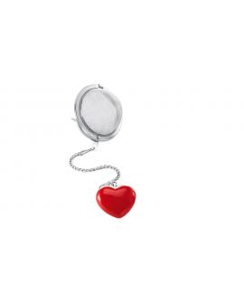Boule à thé coeur