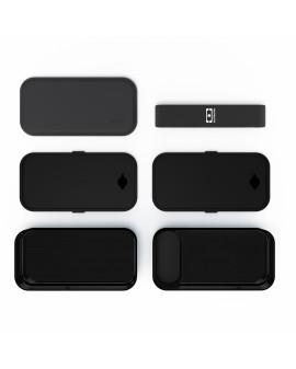 Boîte rectangle Noir Onyx