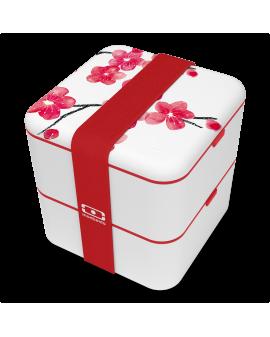 La boîte bento carrée -  Graphic Blossom