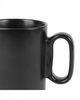 Tisanière en grès avec son filtre - Noir