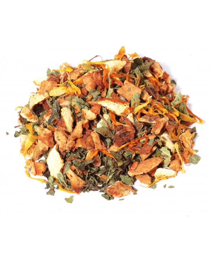 Infusion aux herbes pour le soir BIO - Saveur orange-mandarine